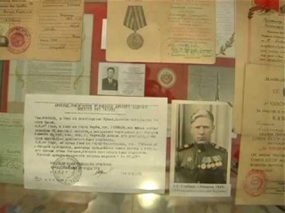 В День освобождения Феодосии в музее Древностей открылась выставка, посвящённая событиям войны