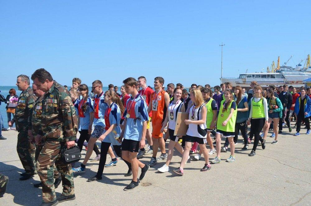 Команда школы-гимназии №5 победила в традиционном легкоатлетическом забеге