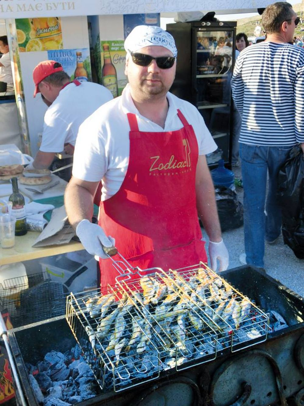 В Феодосии активно готовятся к фестивалю рыбной кухни «Барабулька».