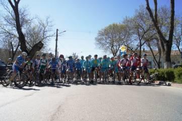 В центре Феодосии состоялась велогонка (ФОТО)