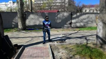 В Феодосии прошел субботник (ФОТО)