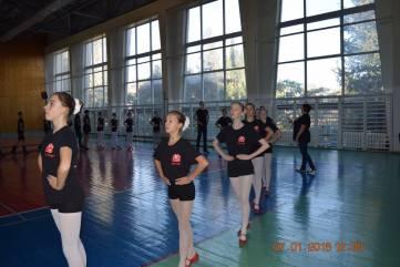 Феодосийский ансамбль танца «Виктория» на сцене фестиваля «Надежды Европы»