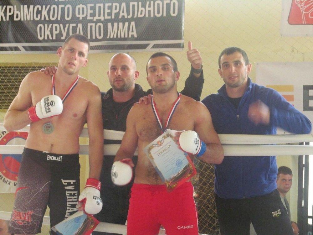 Феодосийцы заняли два призовых места в чемпионате по ММА