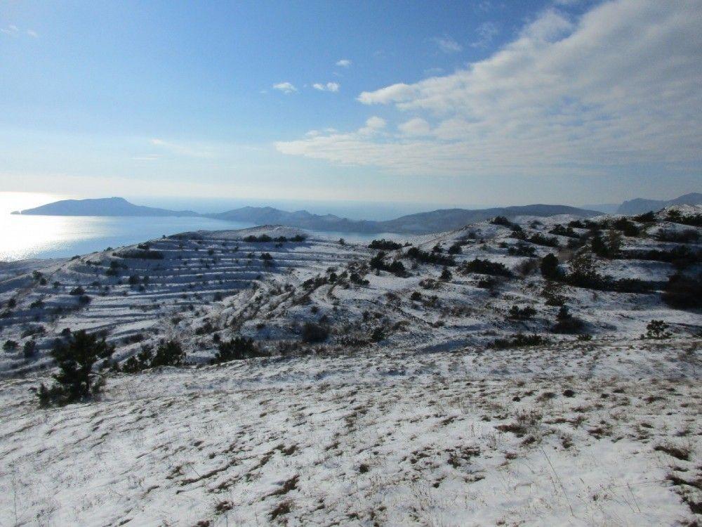 Зима в Керчи продолжается