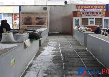 Мороз «съел» все овощи и фрукты в Феодосии