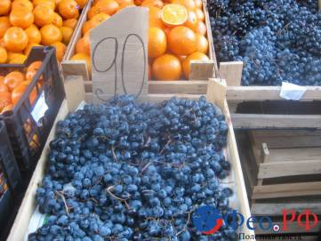 На феодосийских рынках малолюдно