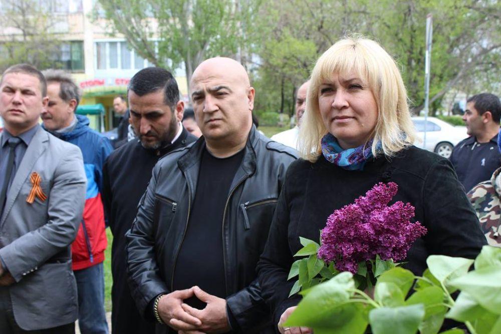 В Феодосии открыли мемориальную доску герою войны