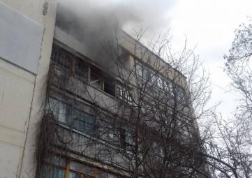В Феодосии на пожаре спасли человека