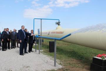В Феодосии открыли новый водовод