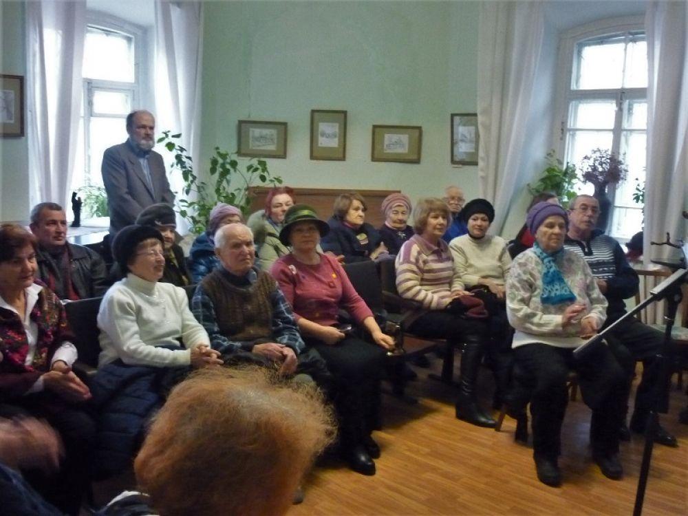 Встреча с ветеранами в Старом Крыму