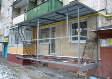 Можно ли пристроить балкон?
