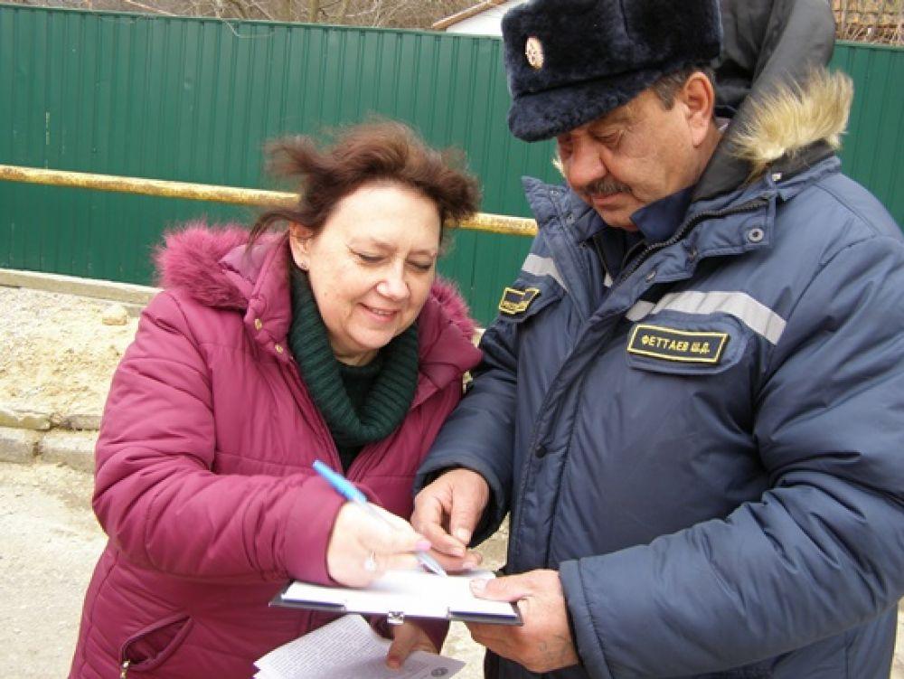 Жителям Краснокаменки рассказали о мерах пожарной безопасности в быту