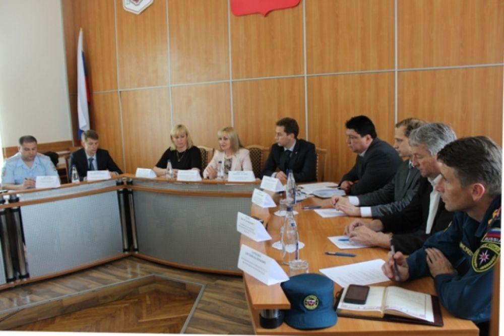 Уполномоченный по защите прав предпринимателей провела выездной прием в Феодосии