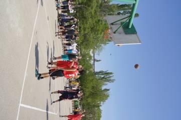 В Феодосии проходят соревнования по баскетболу