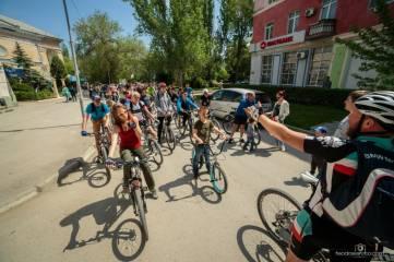 В Феодосии состоялась акция «велодень» (ФОТО)