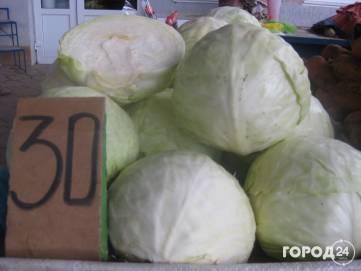 На феодосийских рынках слегка подорожали овощи