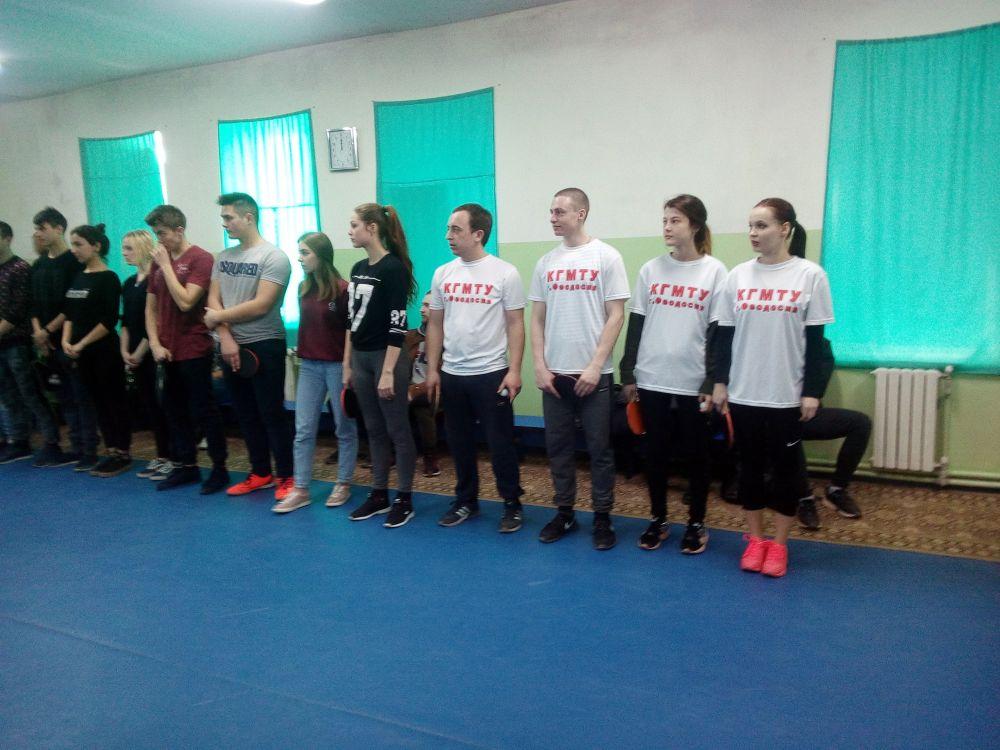 В Феодосии продолжаются соревнования в рамках спартакиады среди студенческих команд