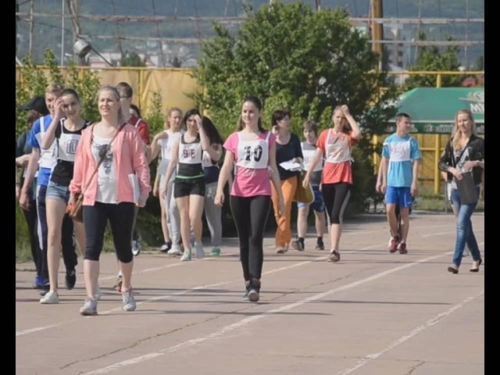 Ученики одной из школ поучаствовали в спартакиаде