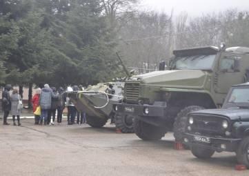 Торжества по случаю Дня войск национальной гвардии прошли в военной части под Феодосией