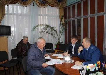 Руководители полиции и прокуратуры Феодосии провели прием граждан в Орджоникидзе