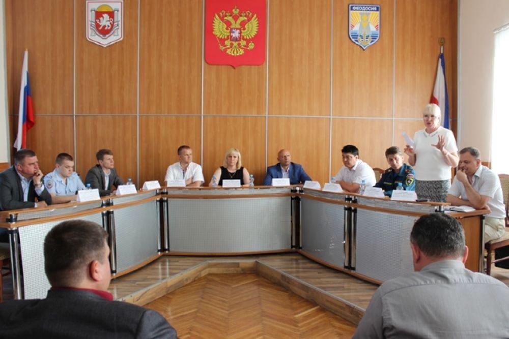 Состоялась очередная встреча с предпринимателями Крымского рынка