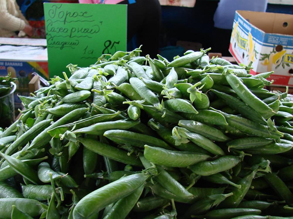 Вкусный май: клубника, зелень, барабулька…