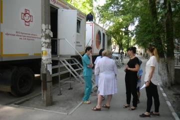 Детская поликлиника на колесах