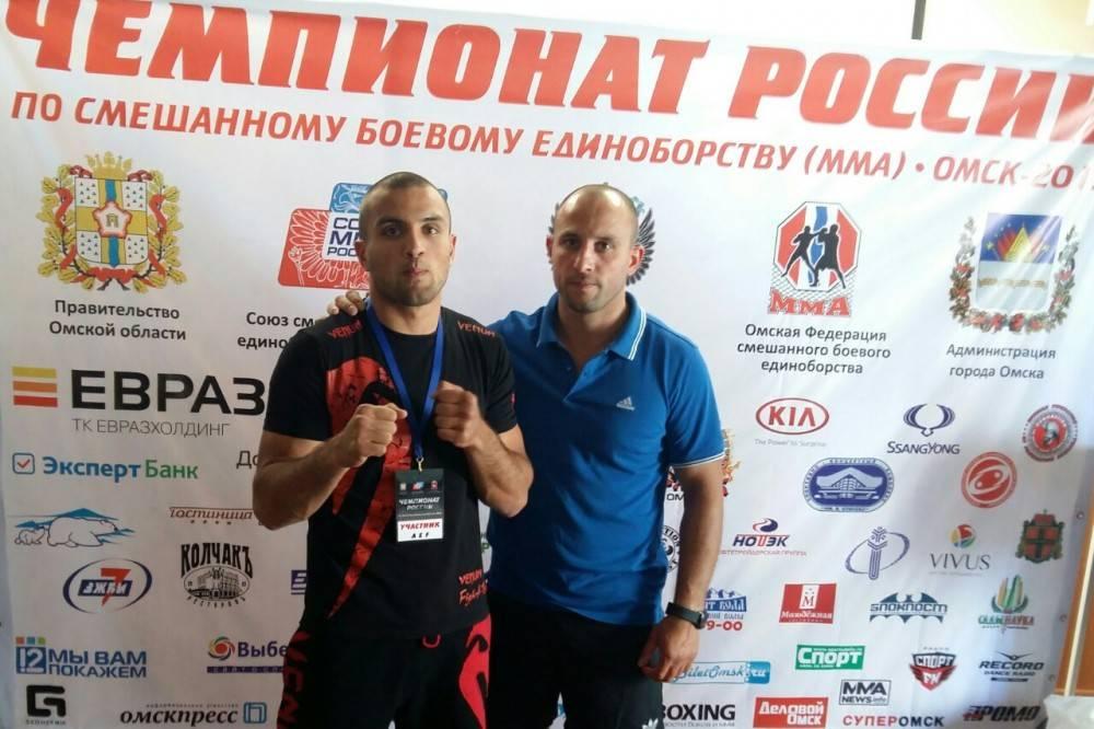 Феодосиец участвует в Чемпионате России по смешанным единоборствам