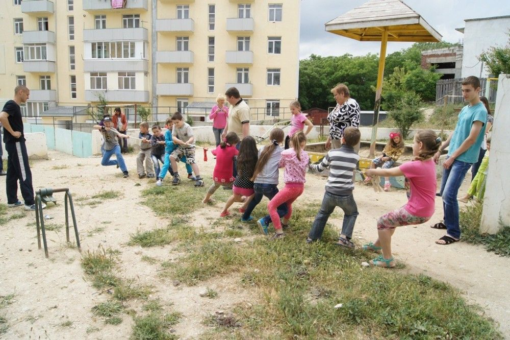 В Феодосии впервые провели «Праздник двора»