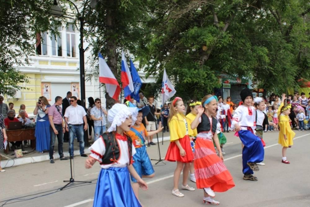 Феодосийцы отметили День защиты детей
