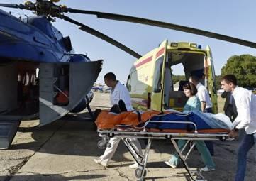 В Крыму транспортировать тяжелобольных пациентов будет новый вертолет