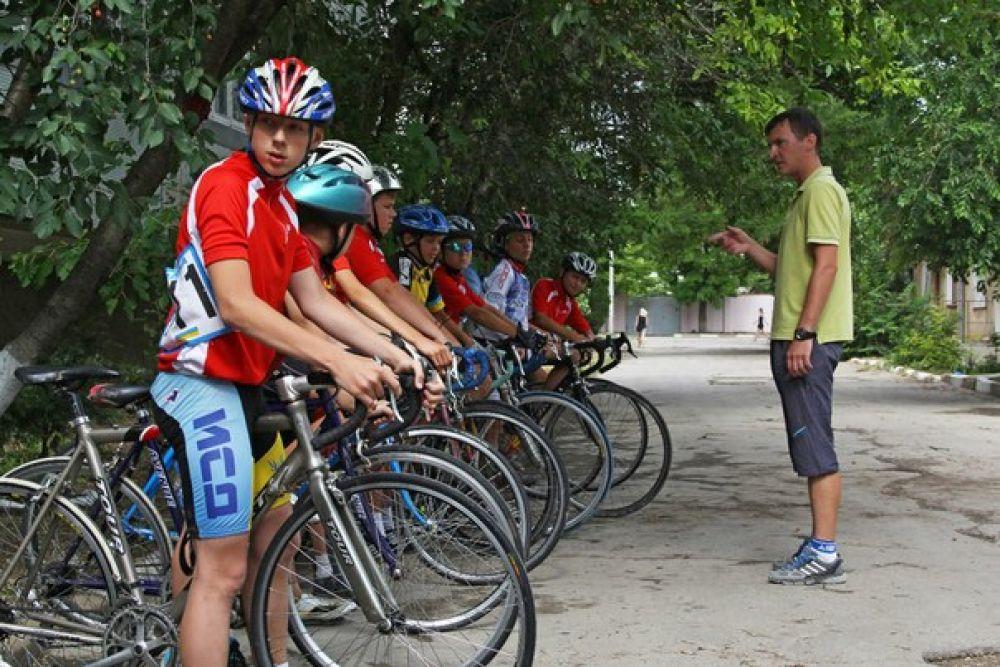Феодосиец стал победителем первенства Крыма по велоспорту в индивидуальной гонке