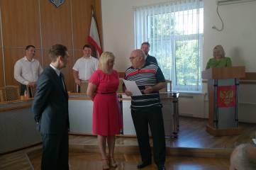 Наградили тренеров феодосийских волейбольных команд
