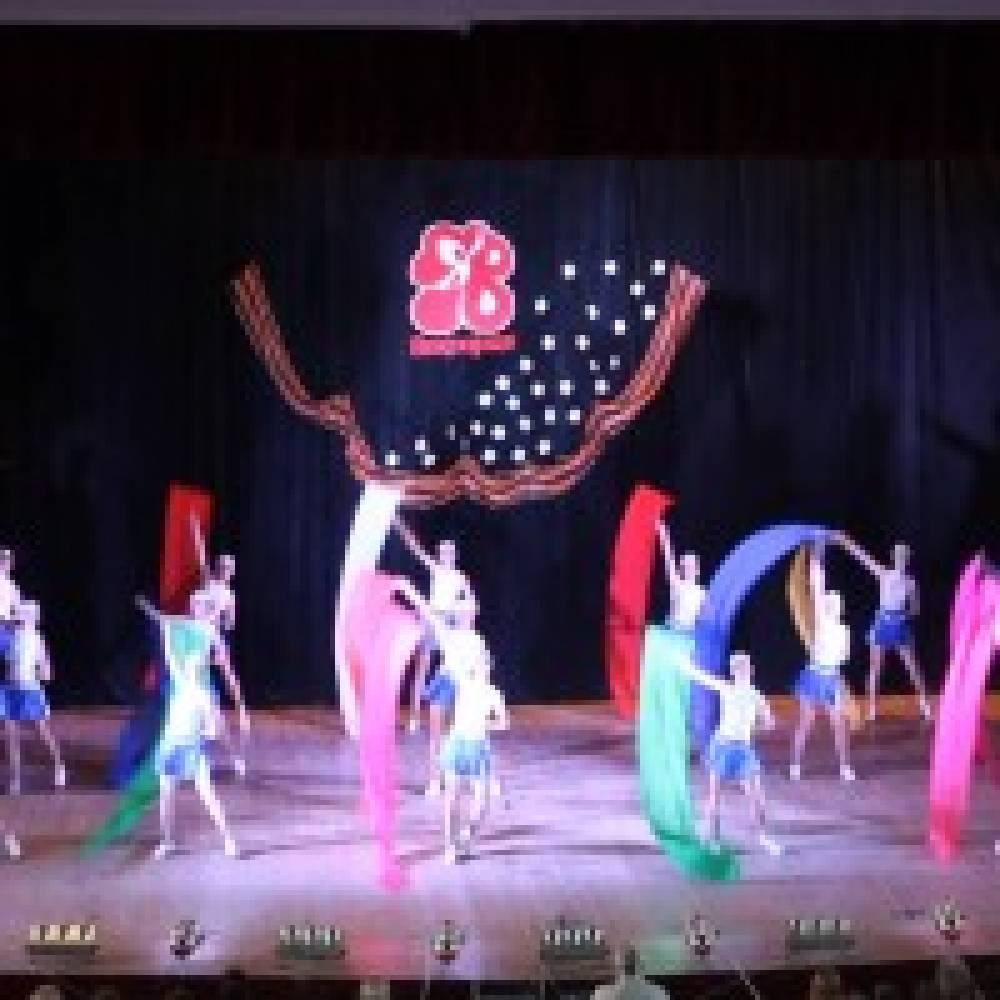 Артисты ансамбля танца «Виктория» провели отчетный концерт