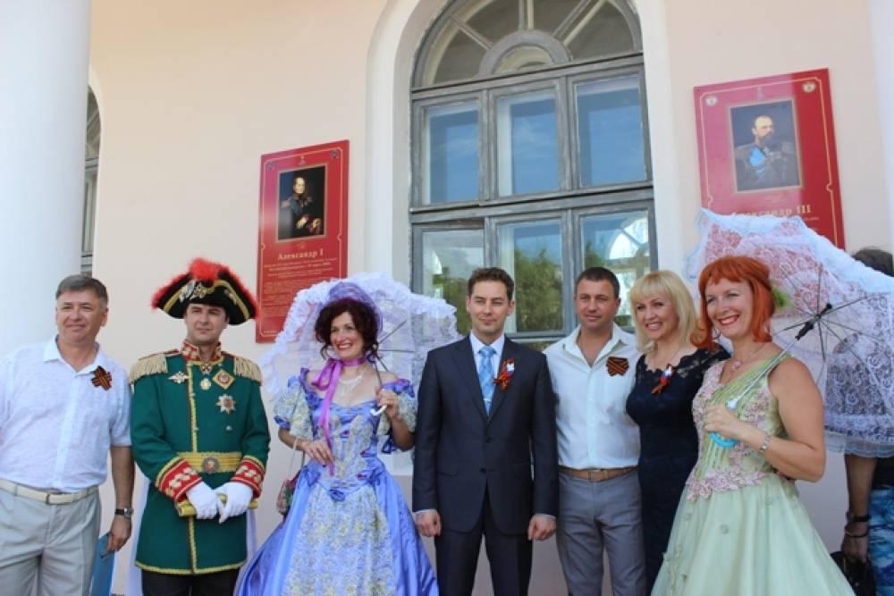 В День России в Феодосии вспомнили российских императоров