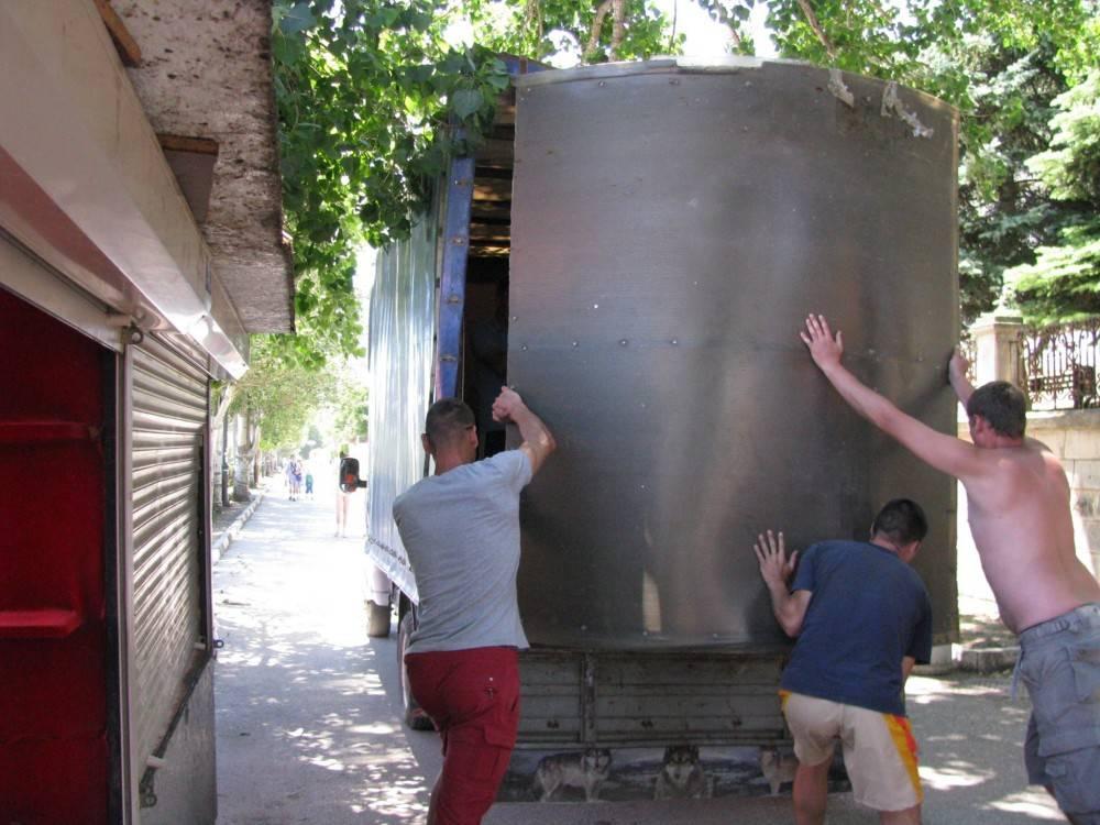 В Феодосии продолжается системный демонтаж  незаконных объектов.