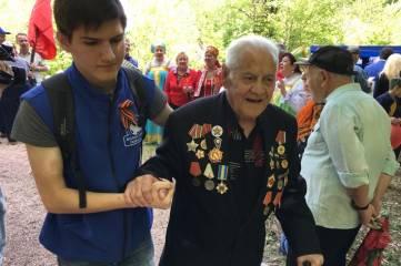 Традиционная «партизанская маёвка» прошла на Ангарском перевале в Крыму