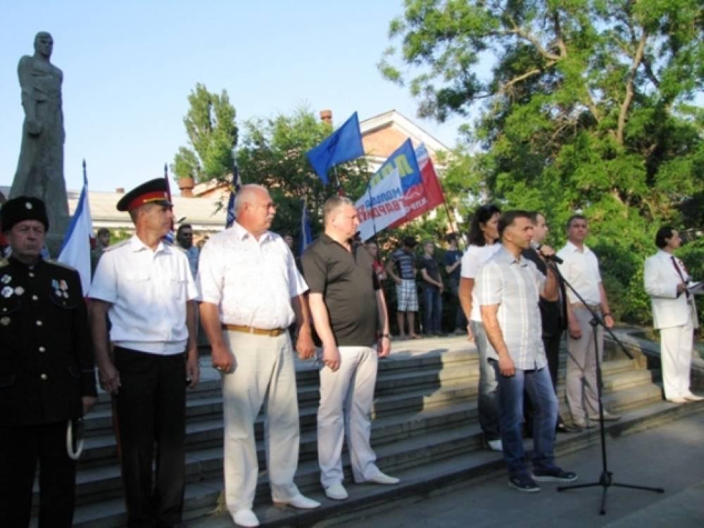 В Феодосии вспомнили народный пикет