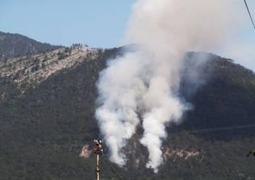 МЧС задействовало вертолёт для тушения крупного лесного пожара возле Ялты