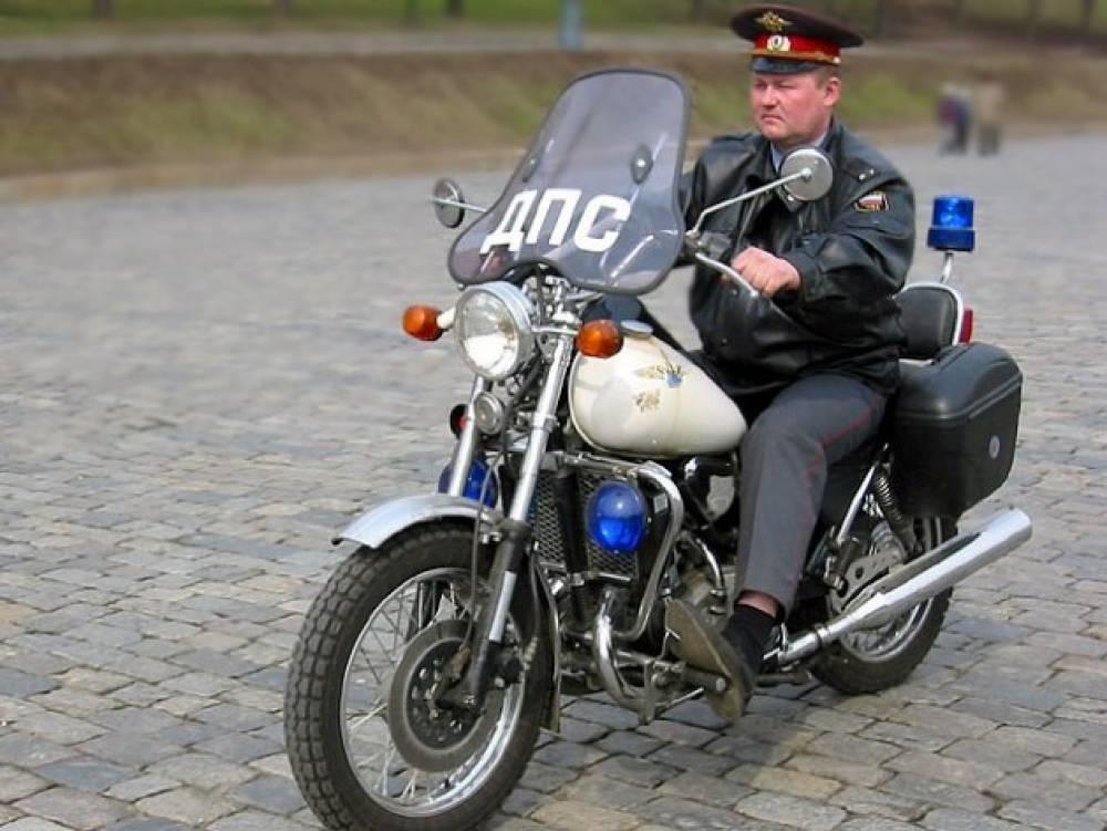 ГИБДД ловит мотоциклистов