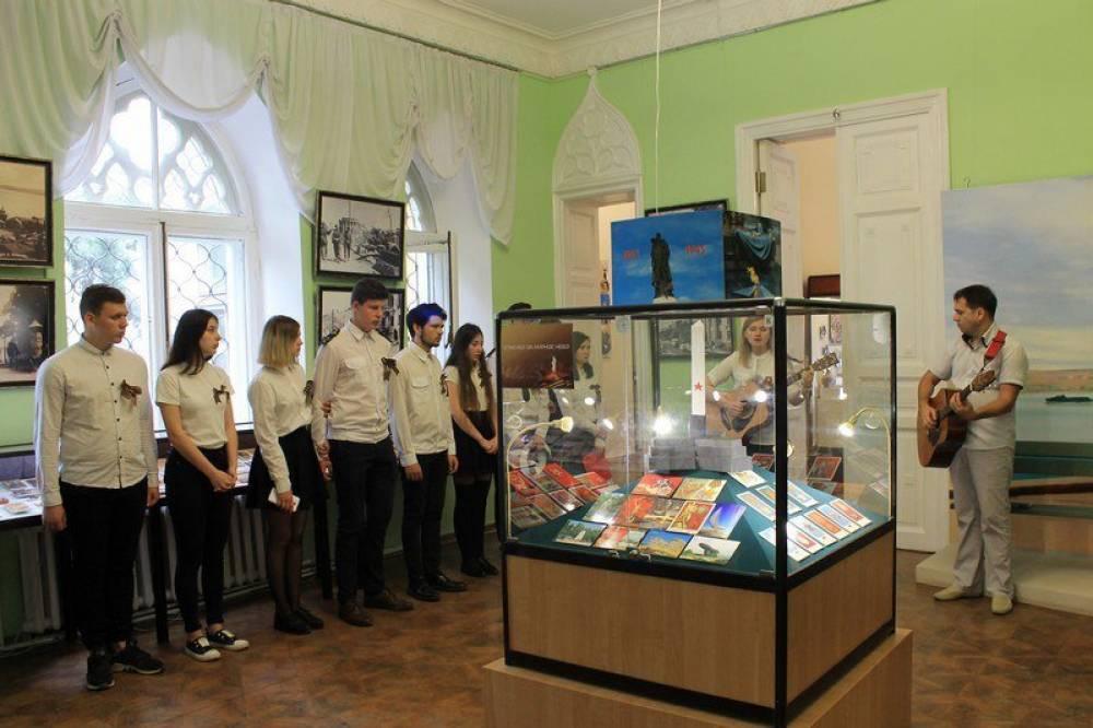 В керченском музее открылась выставка почтовых карточек военных лет