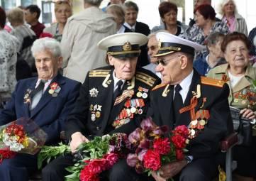 Ветераны Феодосии на параде 9 Мая