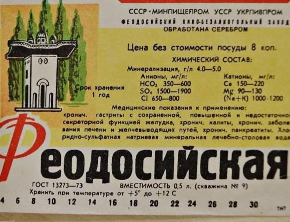 Феодосийскую минеральную будут раздавать бесплатно