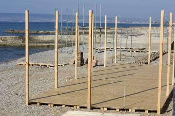 В Приморском застраивают пляж
