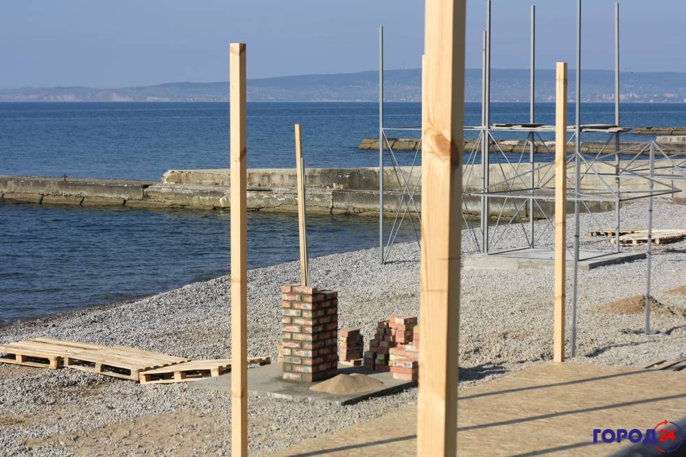 На пляже Приморского все-таки построят кафе