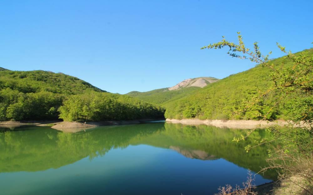 Удивительные озера Крыма