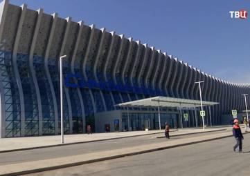 Пассажиры аэропорта Симферополь получили возможность ускоренной регистрации на рейс