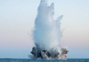 У берегов Ялты взорвут 100-килограммовую авиабомбу