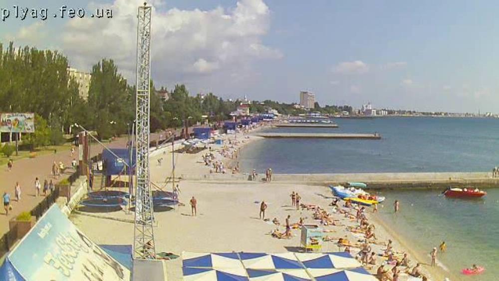 В Феодосии отдыхает на 68 процентов туристов больше