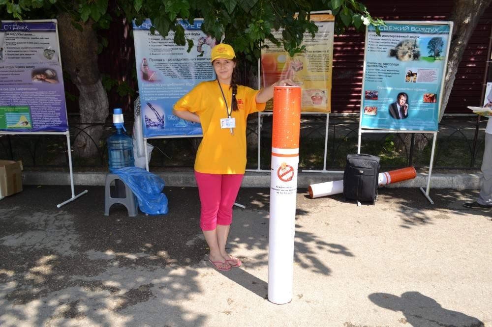 В Феодосии проходит акция за здоровый образ жизни